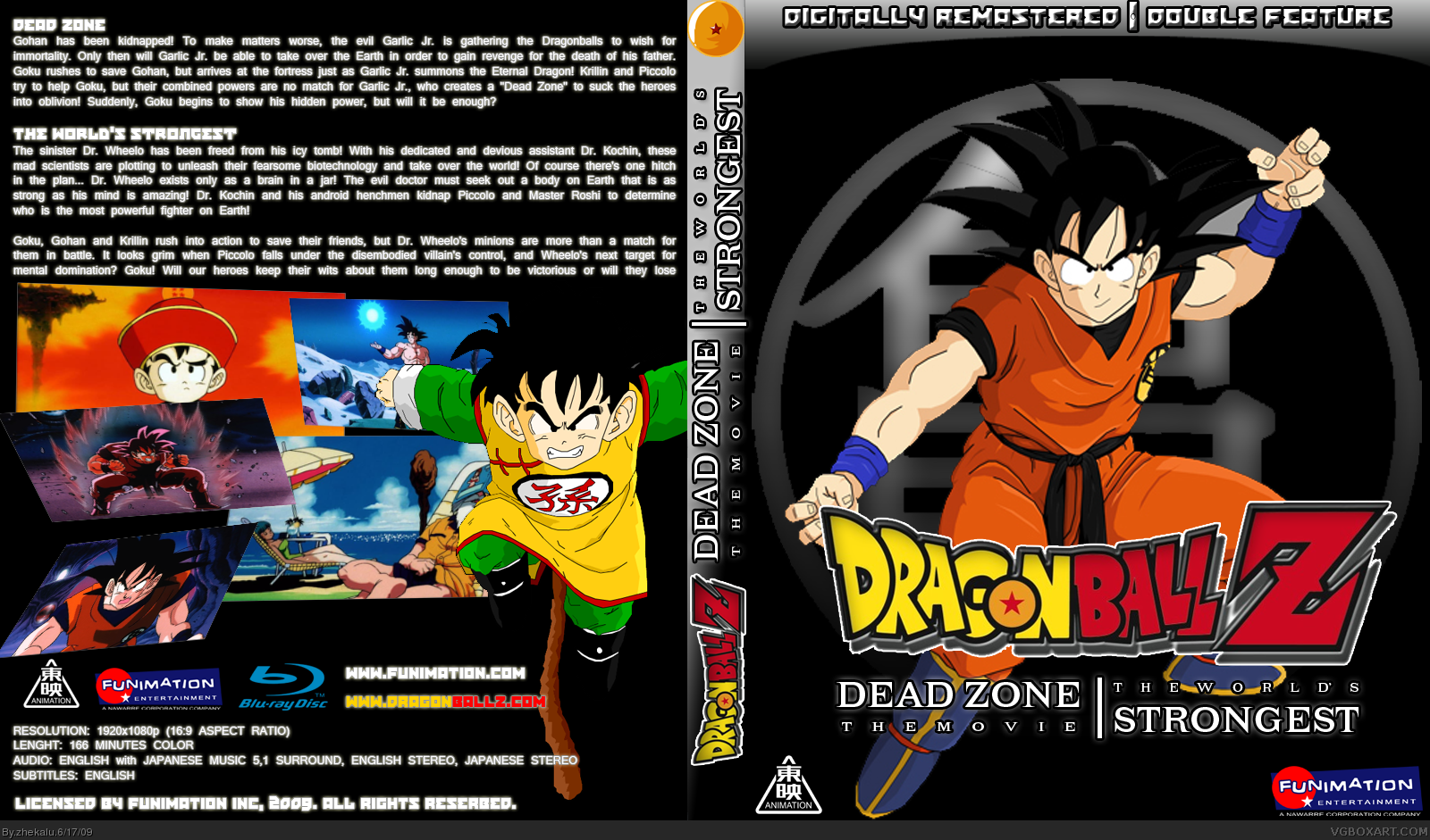 Viewing full size Dragon Ball Z: 1st Double Feature [Blu ...