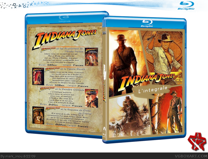 Indiana Jones: The Complete Collection box art cover
