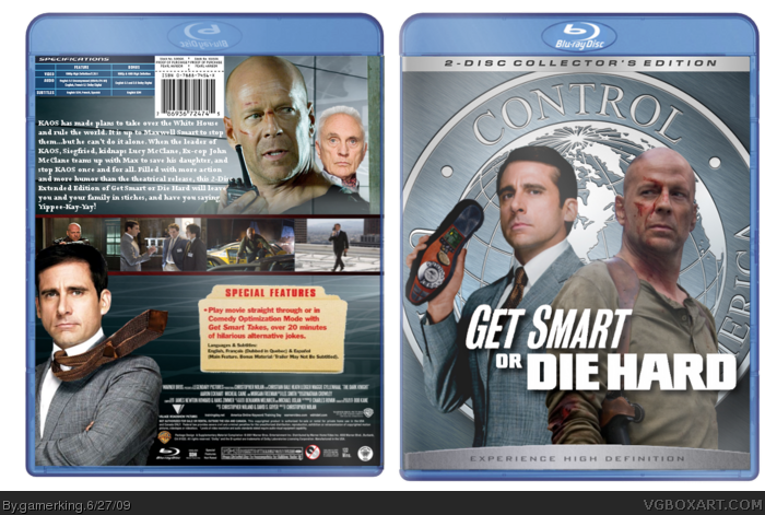 Get Smart or Die Hard box art cover