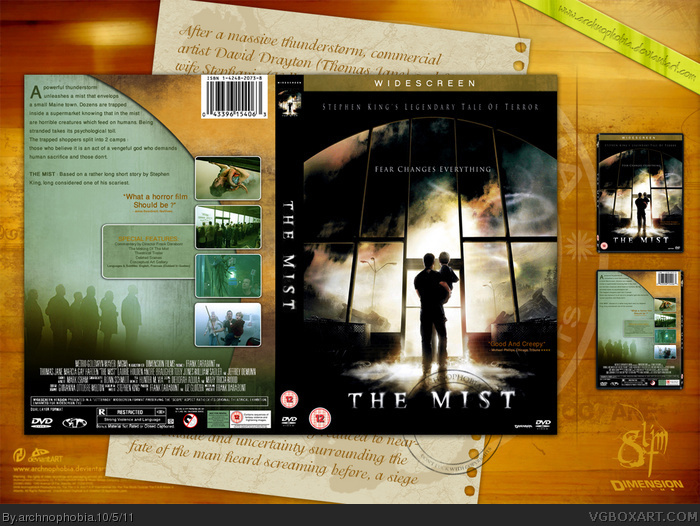 The Mist box art cover