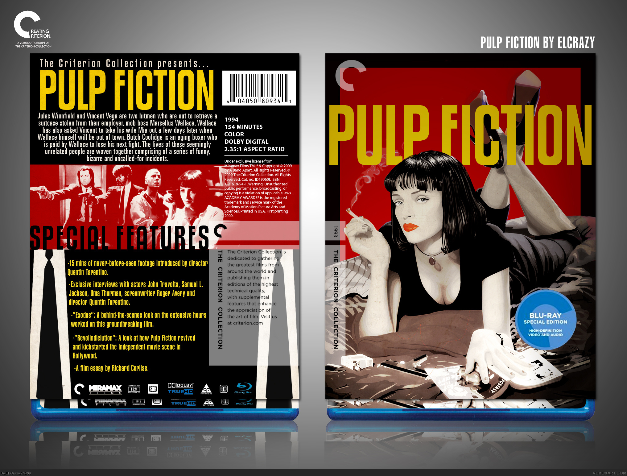 Pulp Fiction box cover