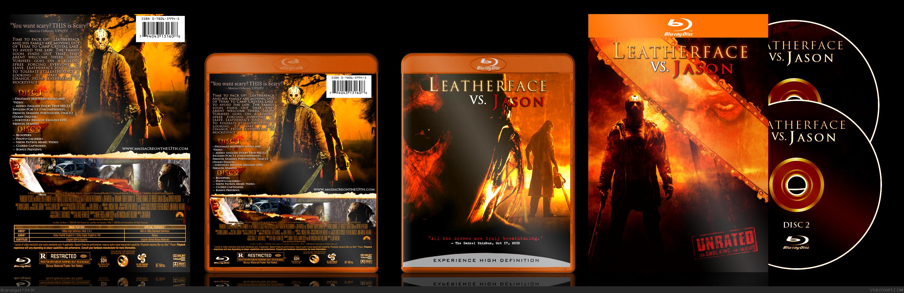 Leatherface Vs Jason