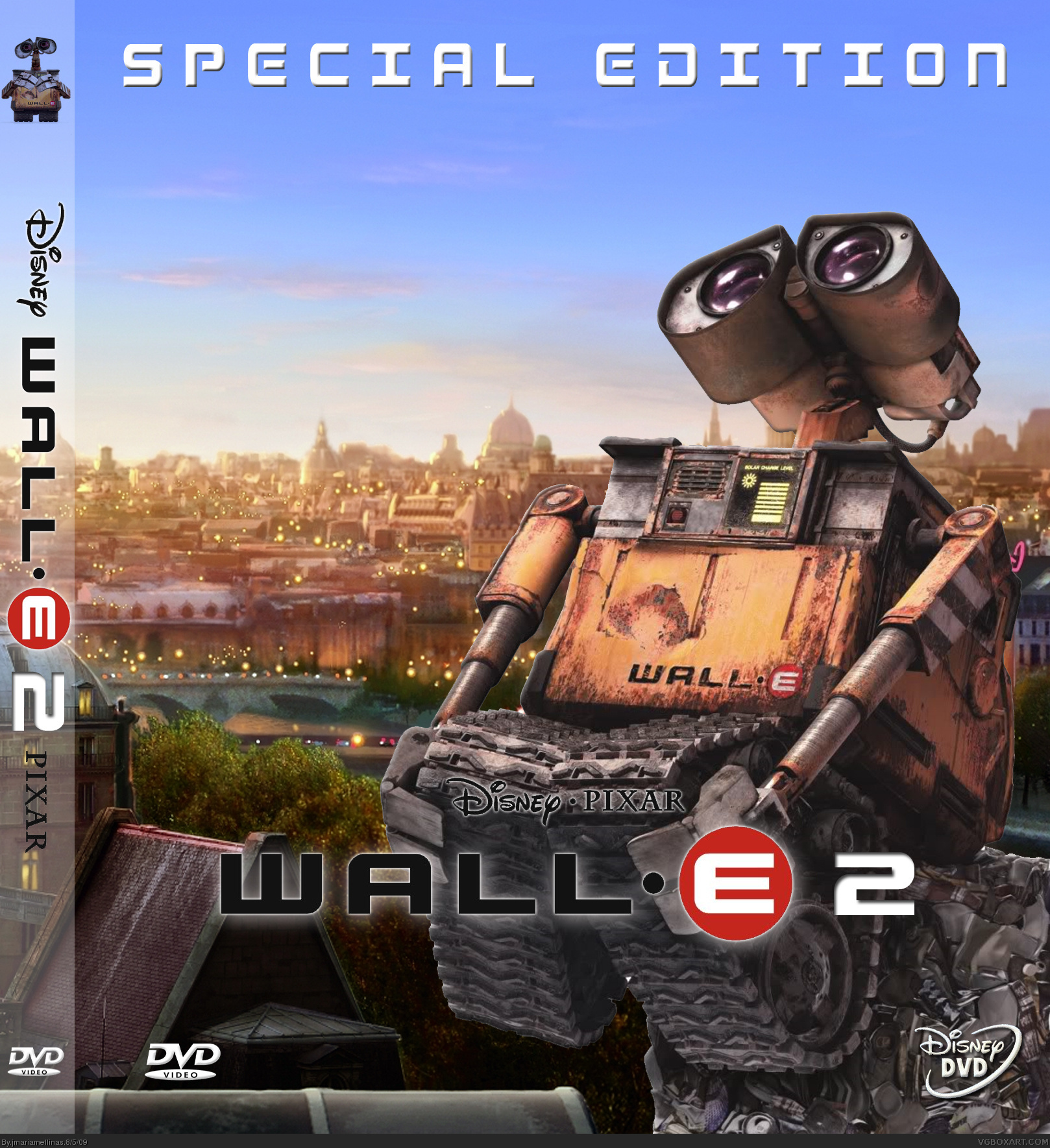 wall e 2 movies box art cover by jmariamellinas picture to