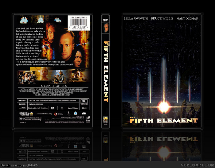 The Fifth Element box art cover