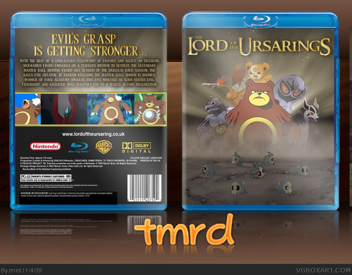 Lord Of The Ursarings box art cover