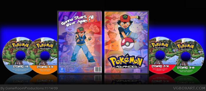 Pokemon Advanced box art cover