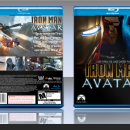 IronMan vs Avatar Box Art Cover