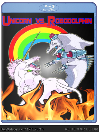 Unicorn vs. Robodolphin box cover