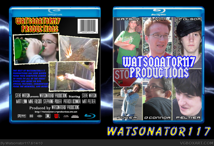 Watsonator117 Productions box art cover