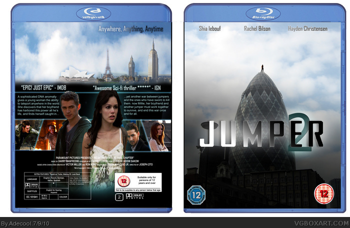 Jumper 2 box art cover