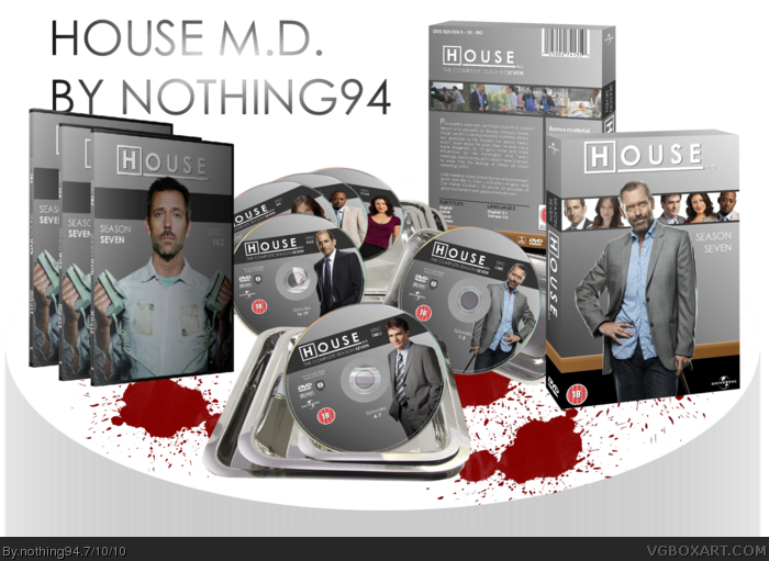 House M.D. box art cover