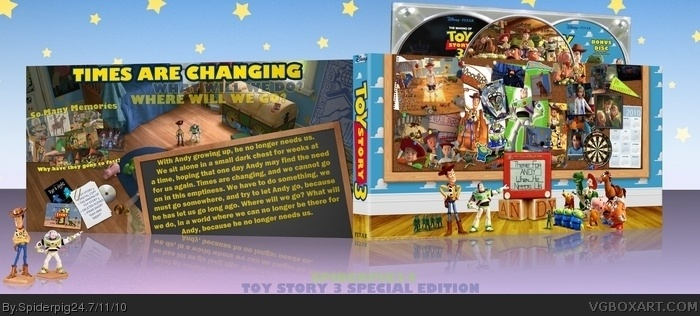 Toy Story 3 Special Edition box art cover