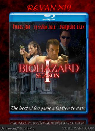 Biohazard season 1 Movies Box Art Cover by Revan XI9