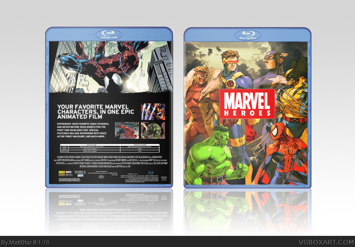 Marvel Heroes box art cover