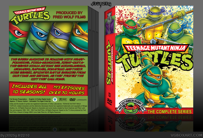 Movies » Teenage Mutant Ninja Turtles: The Complete Serise Box Cover