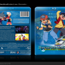 Dimensional Heroes: Beyblade x Pokemon Box Art Cover