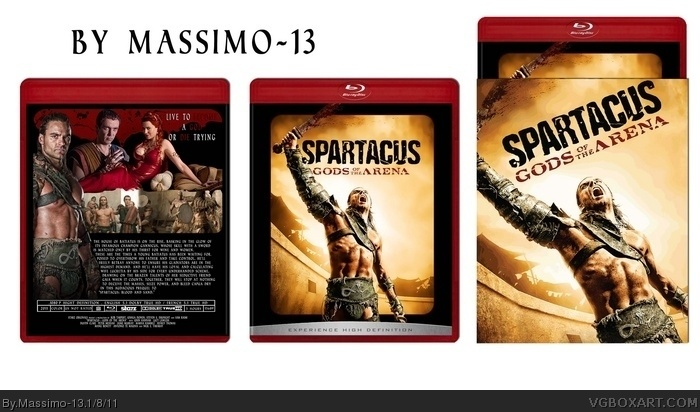 Spartacus : Gods Of The Arena box art cover
