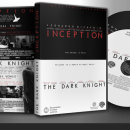 The Dark Knight/ Inception (Double Pack) DVD Box Art Cover