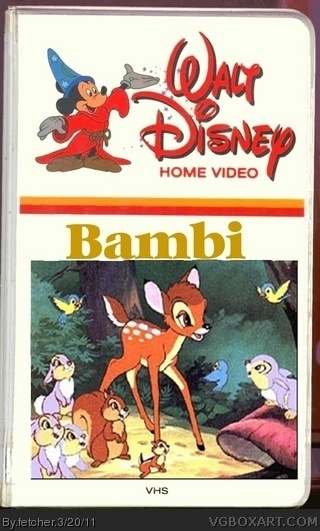Bambi (Video) Movies Box Art Cover by fetcher