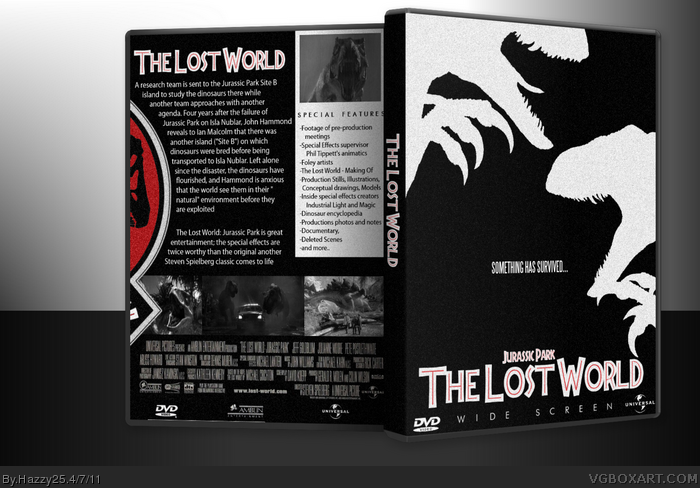 Movies » The Lost World: Jurassic Park Box Cover