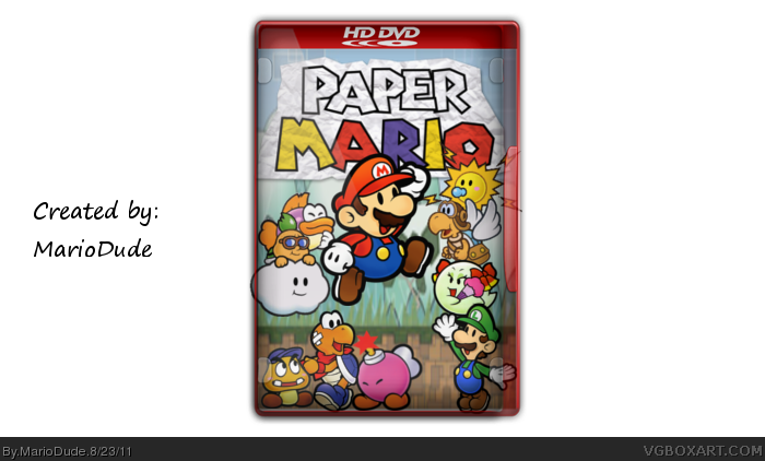 Paper Mario: The Movie (Mario Story) box cover