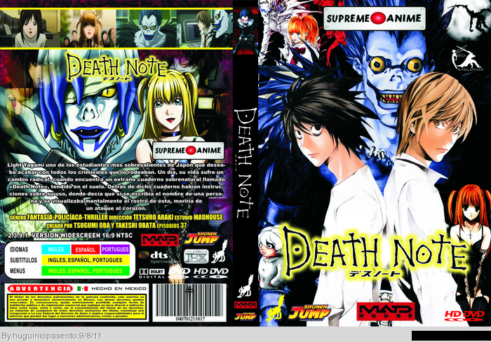 Death Note (Anime) Movies Box Art Cover by huguiniopasento