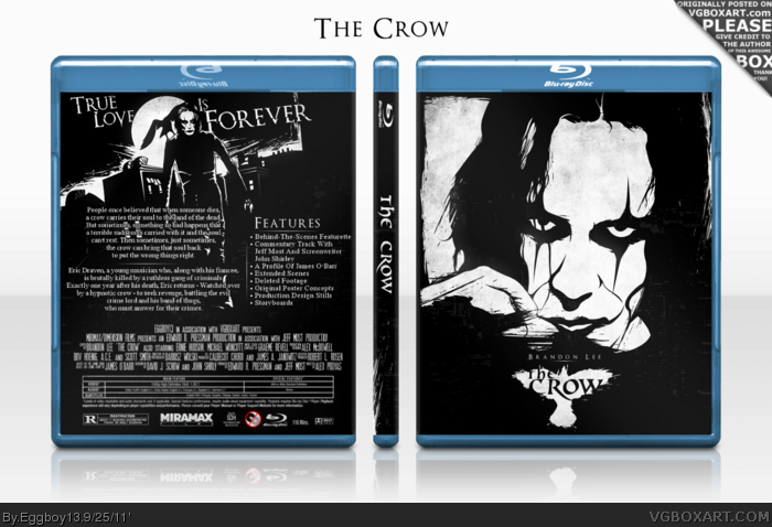 The Crow box art cover
