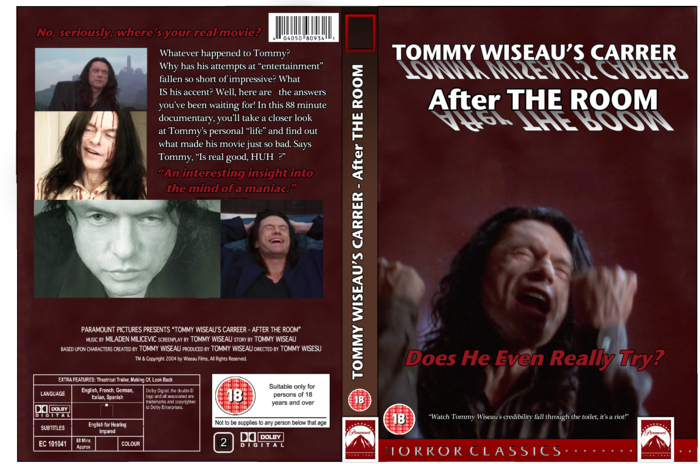 Tommy Wiseau's Career - After The Room box art cover