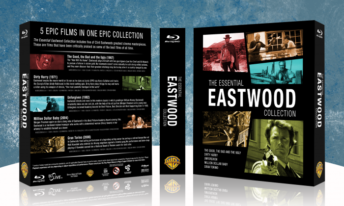 The Essential Eastwood Collection box art cover