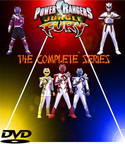 Power rangers jungle fury the complete series movies box art cover power rangers jungle fury the complete series box art cover voltagebd Choice Image