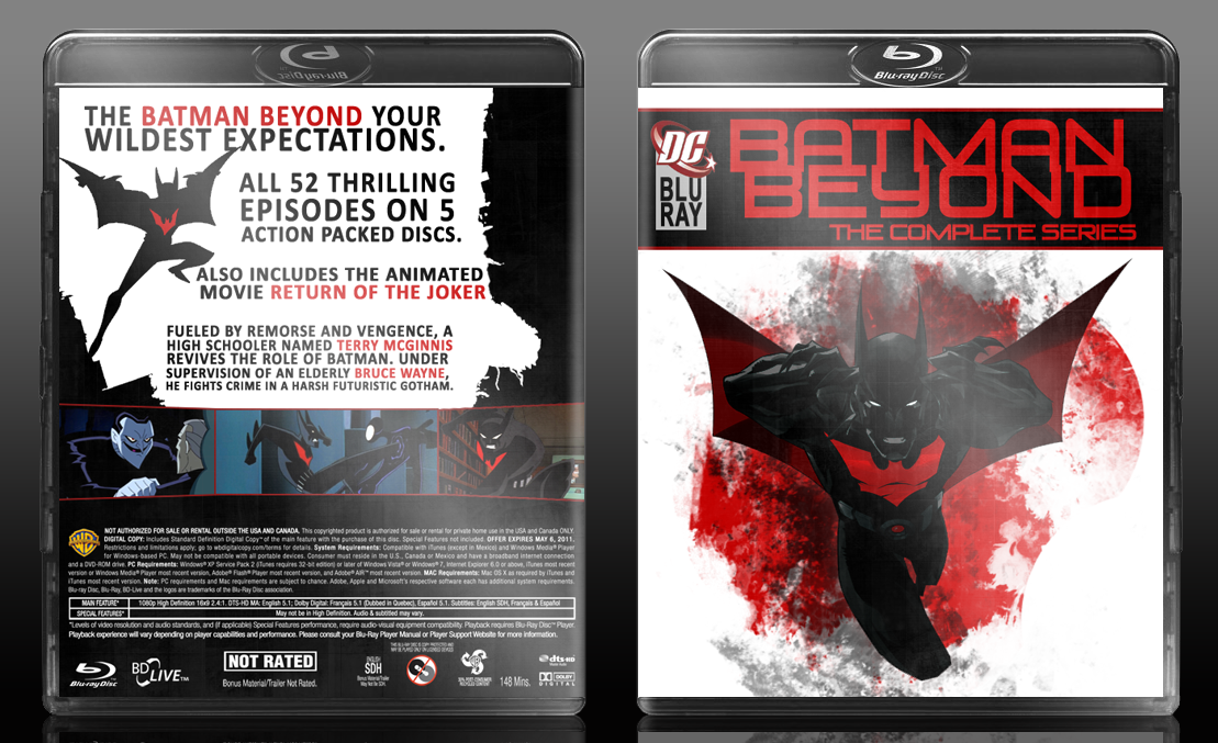 Batman Beyond: The Complete Collection box cover
