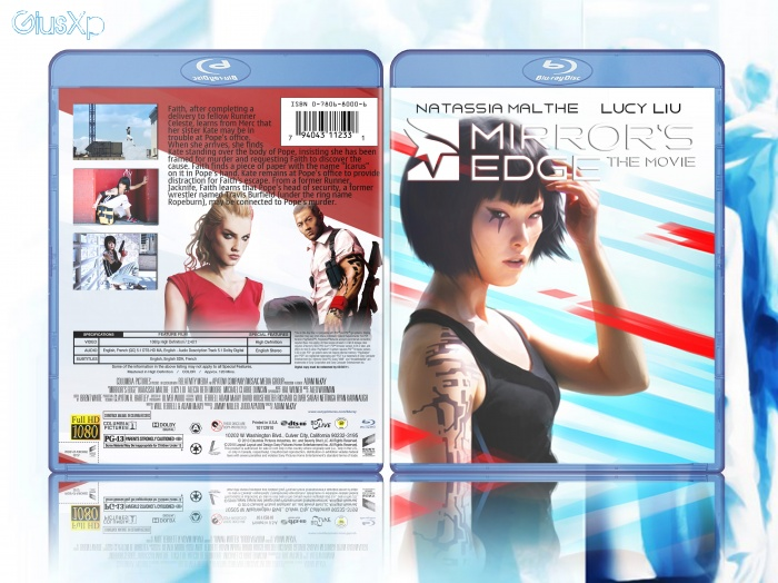 Mirror's Edge: The Movie box art cover