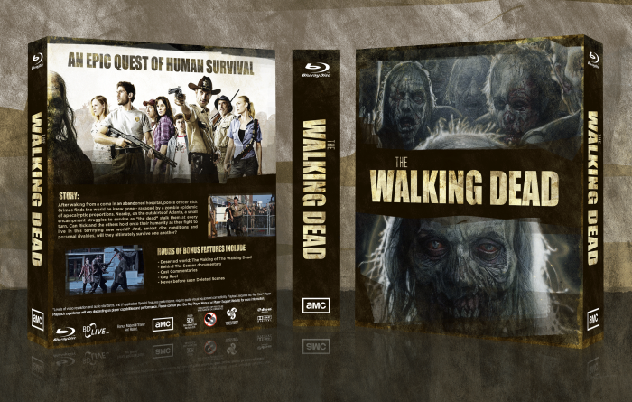 The Walking Dead: Season 1 box art cover