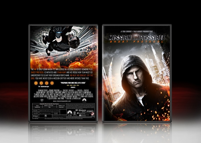 Mission Impossible Ghost Protocol box art cover