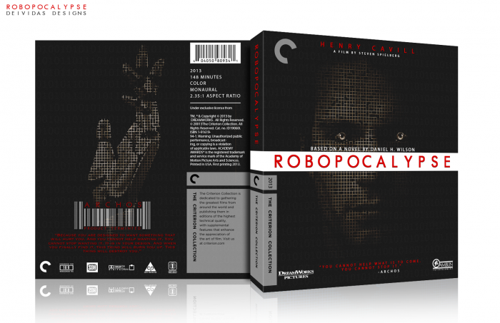 Robopocalypse box art cover
