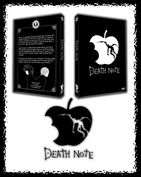 Death Note (Anime) Movies Box Art Cover By Archnophobia