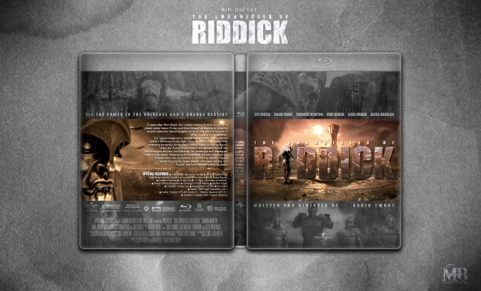 The Chronicles of Riddick box art cover