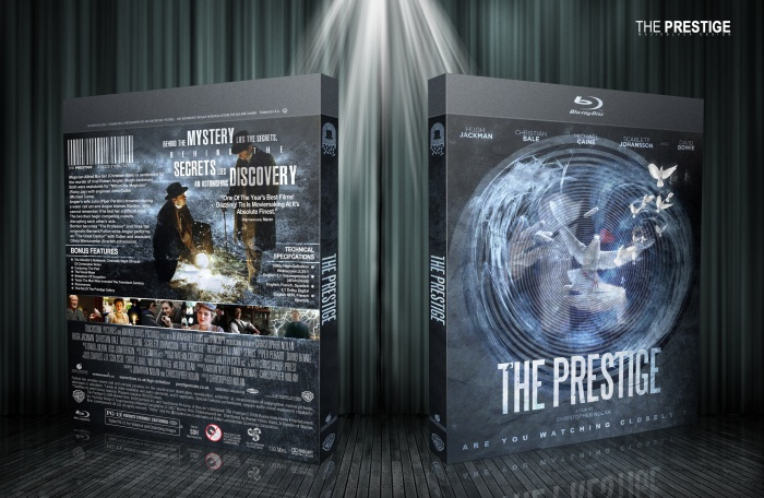 The Prestige box art cover