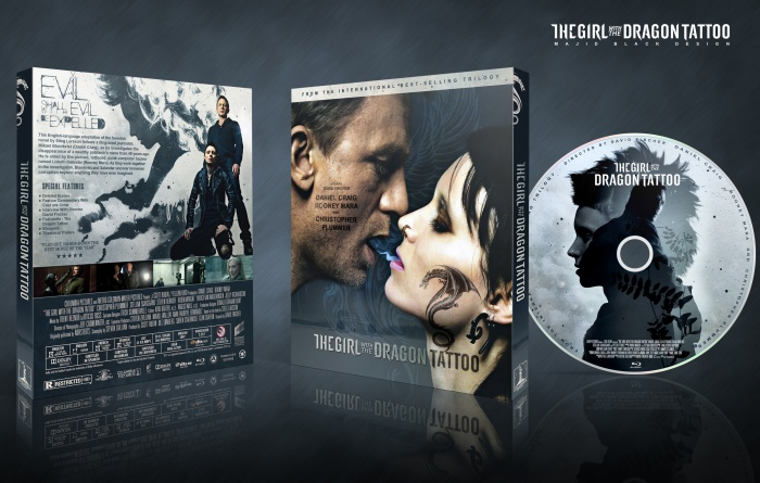 The Girl with the Dragon Tattoo box art cover