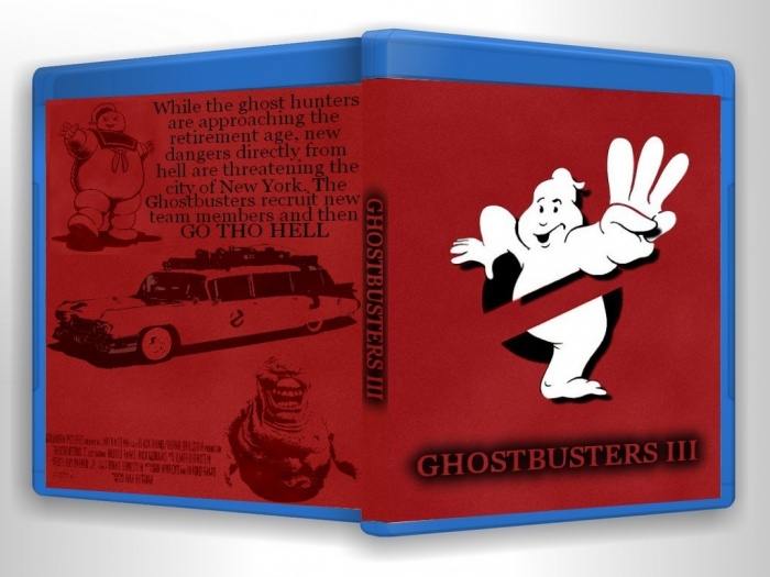 GhostBusters III box art cover
