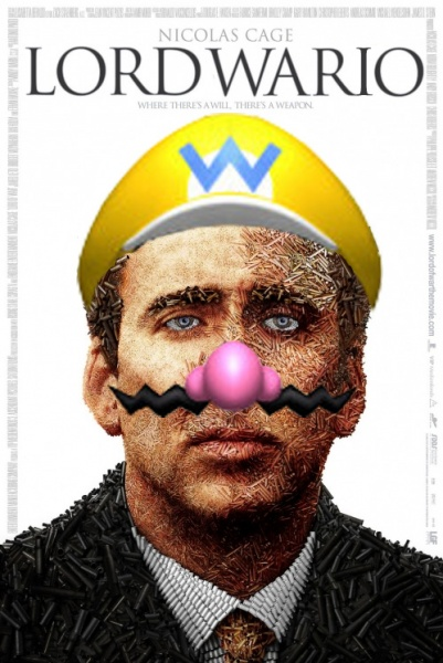 Lord Wario box cover