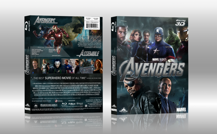 Marvel's The Avengers box art cover