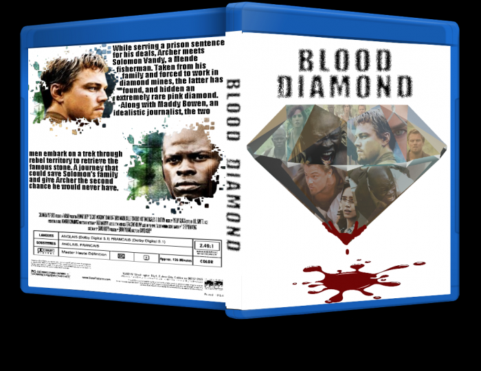 Blood Diamond box art cover