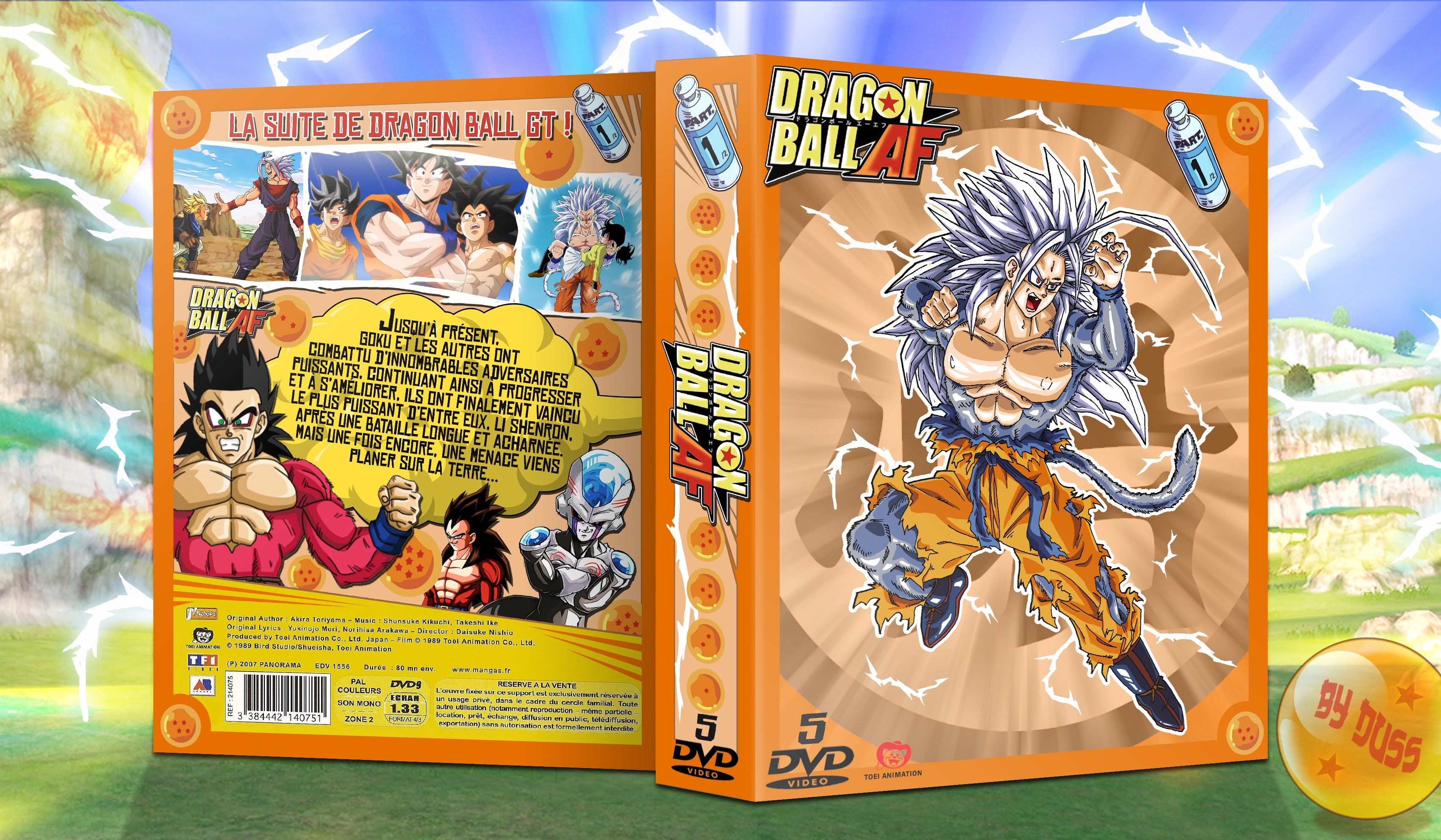 Dragon Ball AF box cover