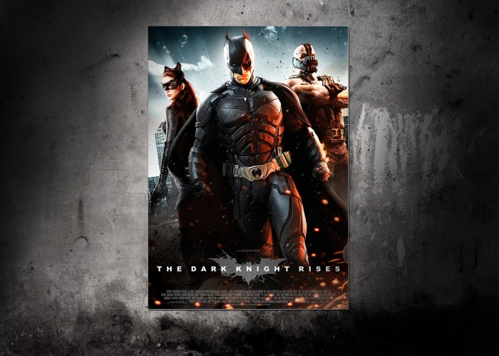 The Dark Knight Rises Poster box art cover