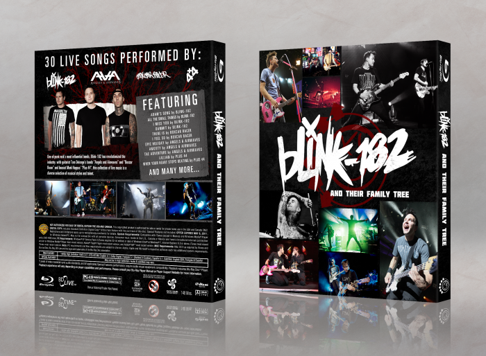 Blink-182 and Their Family Tree box art cover