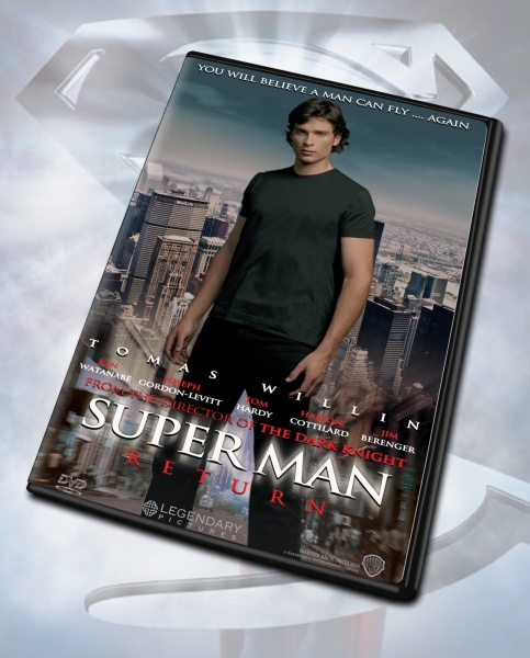 Superman Returns box art cover