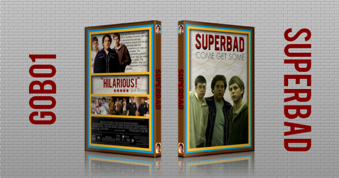 Superbad box art cover