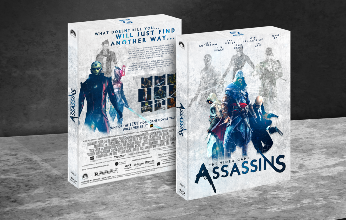 The Video Game Assassins box art cover