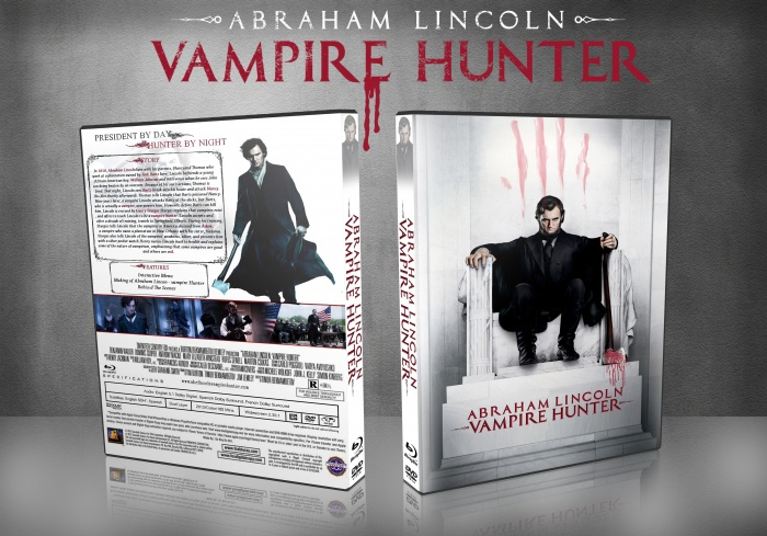 Abraham Lincoln - Vampire Hunter box art cover